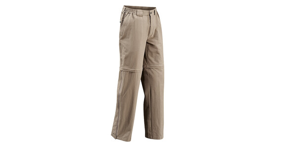 VAUDE Men's Farley Stretch T-Zip Pantalon Muddy